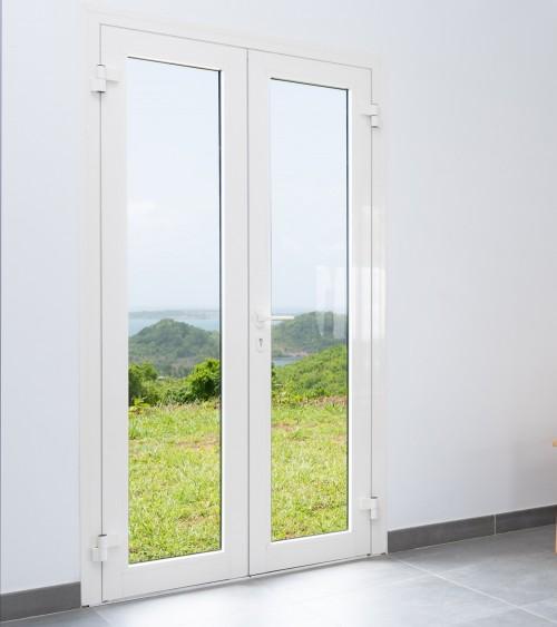 Porte vitrée 2 vantaux OF / OA