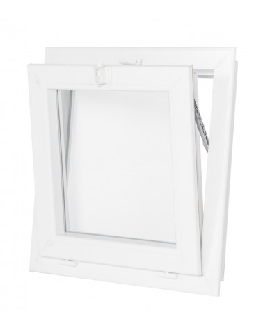 Fenêtre à souflet 1 vantail PVC