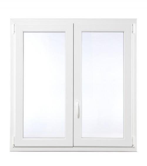 Fenêtre PVC 2 vantaux ouvrant à la française