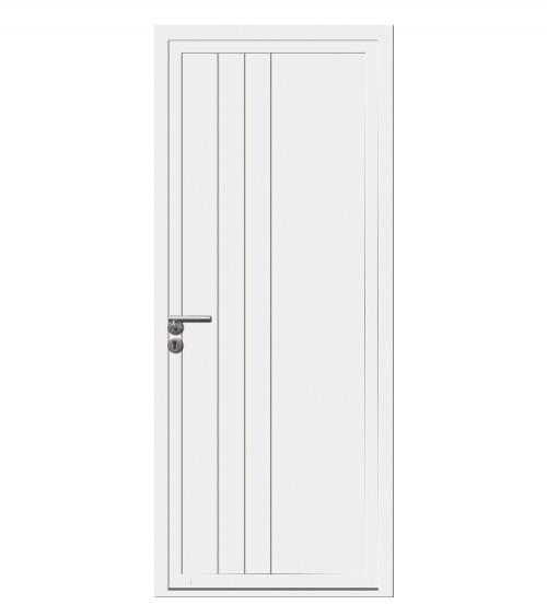 Porte d'entrée MAUPASSANT PVC 1 vantail OF