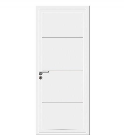 Porte d'entrée PAGNOL PVC 1 vantail OF